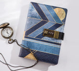 Contemporary Art & Retro Code Lock Diary