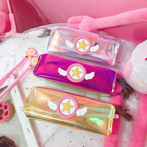 Shiny Star Pencil Case