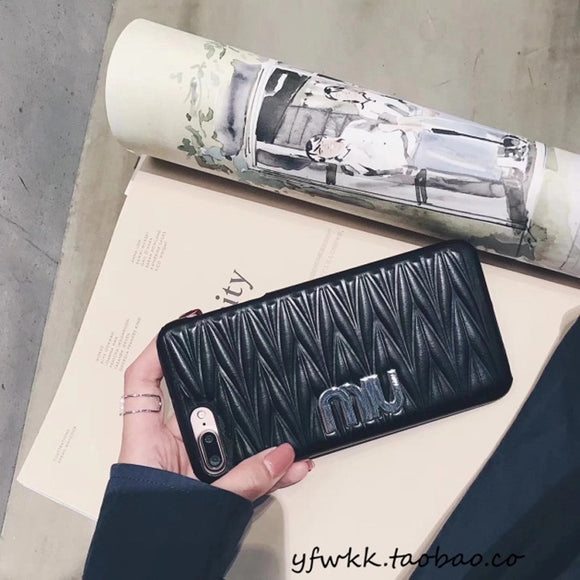 Black Miu Miu Case