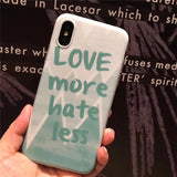 Love More Hate Less Case