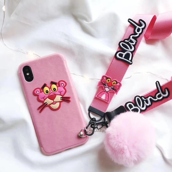 Pink Panther Face Case