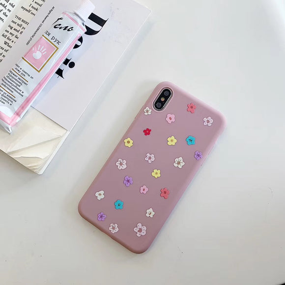 Pink Case with Mini Flowers