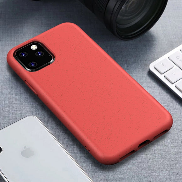 Red Matte Plain Case