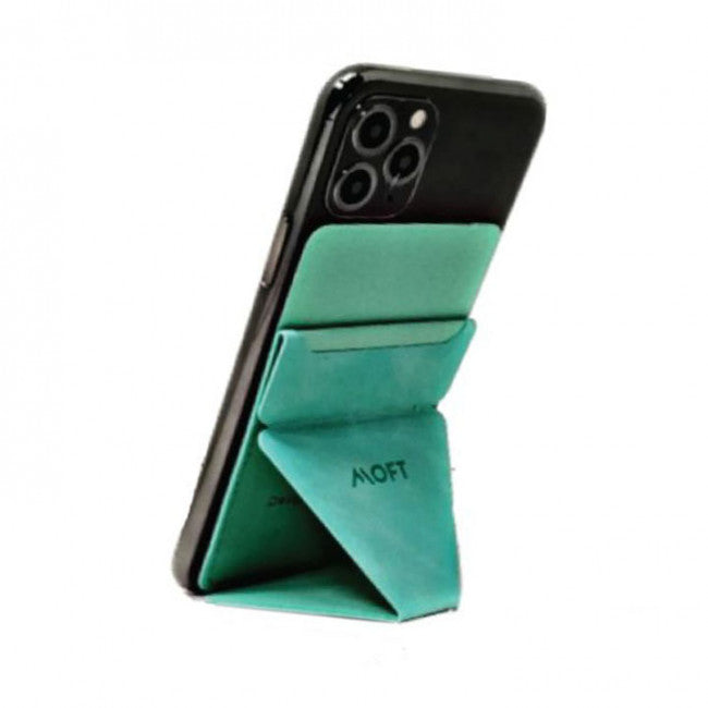 Moft Phone Stand - Mint Green - موفت - مسكة ومحفظة وستاند