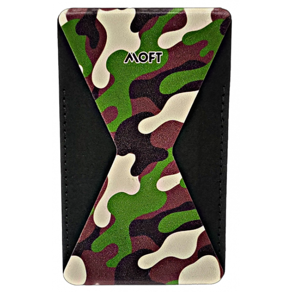 Moft Phone Stand - Camo Green - موفت - مسكة ومحفظة وستاند