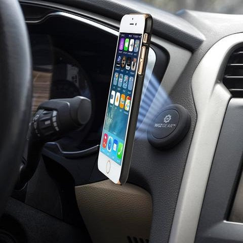 WizGear Magnetic Flat stick On Car Mount - ستاند تثبيت مغناطيس