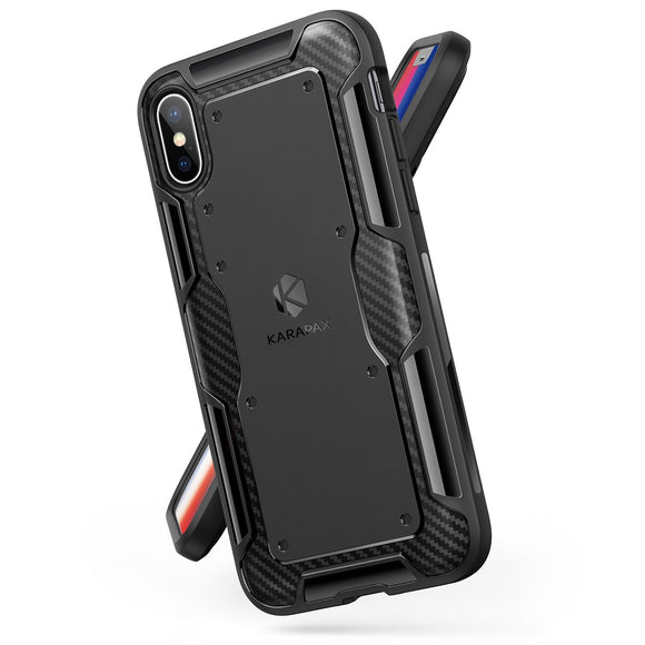 KARAPAX Shield Case For IPhone X - Black