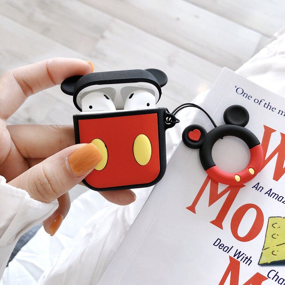 Mickey AirPods Case with Ring - كفر سماعة ايربود