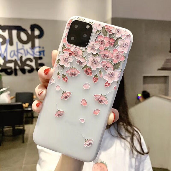 Clear Mini Flower Blossom Case
