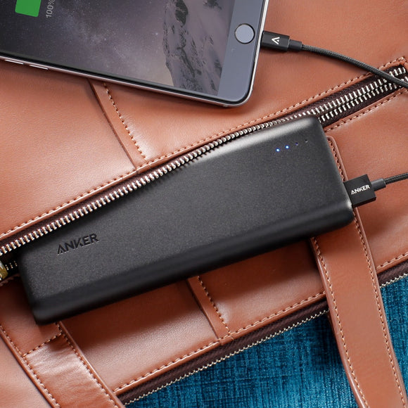 Anker PowerCore 20100 iQ - Black - [18 month warranty]