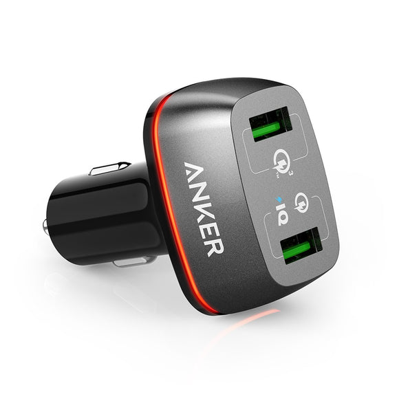 Anker PowerDrive+2 QC3.0 iQ Gray [18 month warranty]