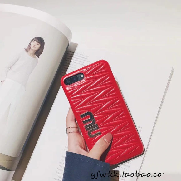 Red Miu Miu Case