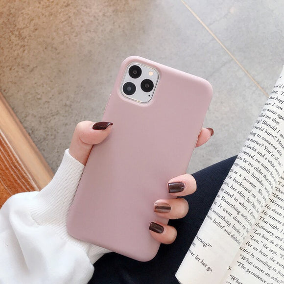 Pink Plain Soft Case