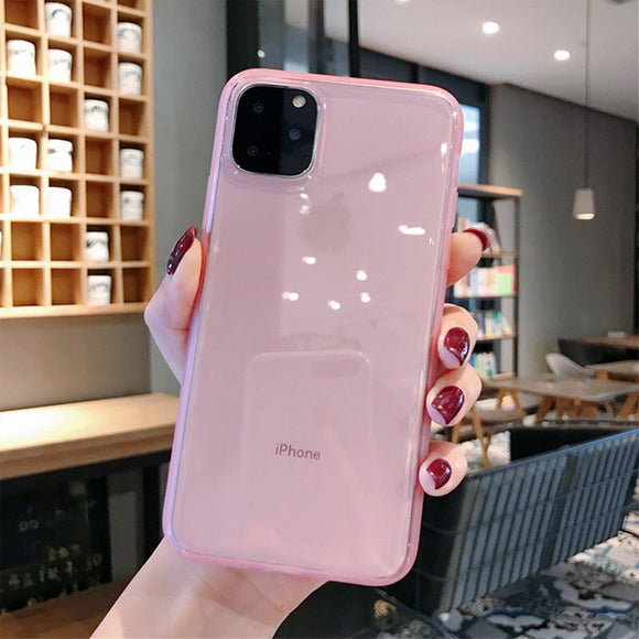 Pink Case with Protection Back Cover
