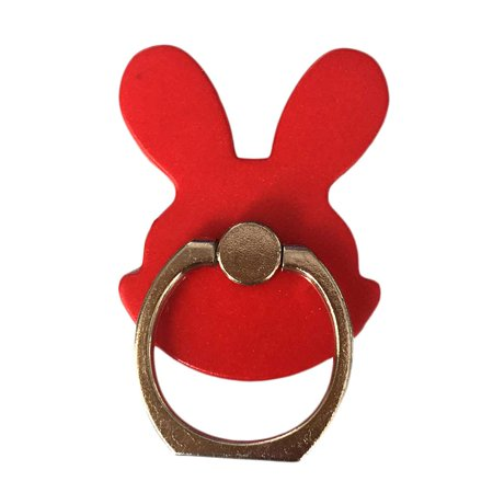 Red Bunny Ring - مسكة خاتم