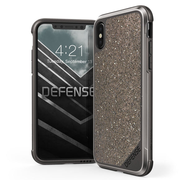 X-Doria Defense Lux - Dark/Gold Glitter