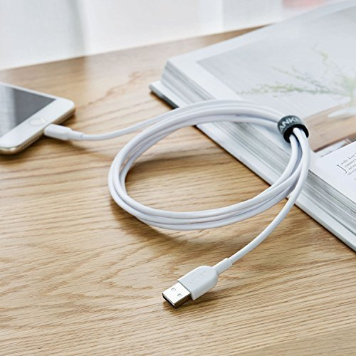 Anker PowerLine II Lightning (3m) - White - [18 Month Warranty] - ابيض - 3 متر