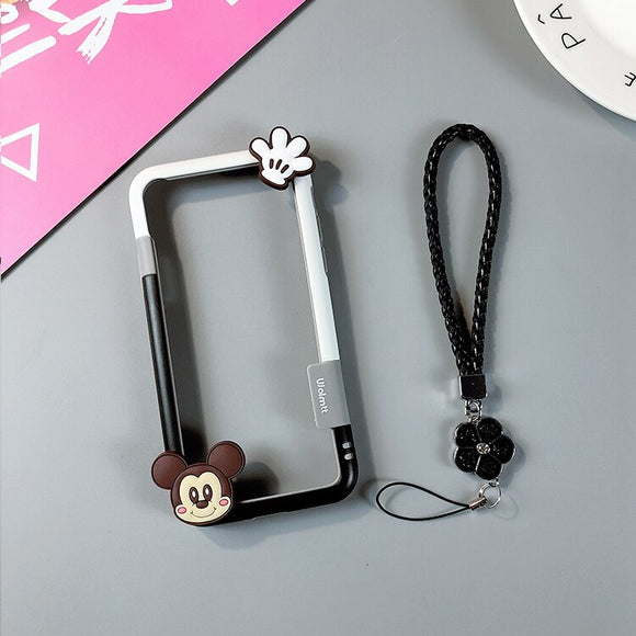 Mickey Mouse Case with Lanyard - كفر مع خيط علاقة