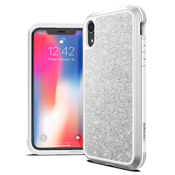 X-Doria Defense Lux Case  - White Glitter