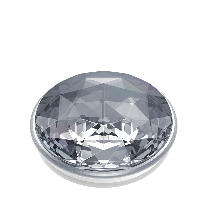 POPSOCKET - Disco Crystal Silver - مسكة دائرية - بوب سوكت