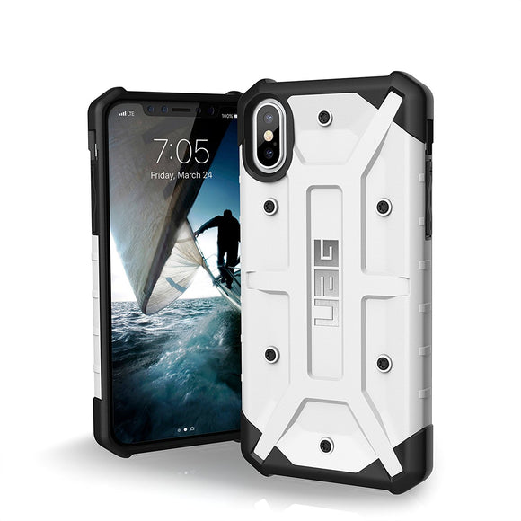 UAG - iPhone X Pathfinder Case- White/Silver Logo- Retail Package