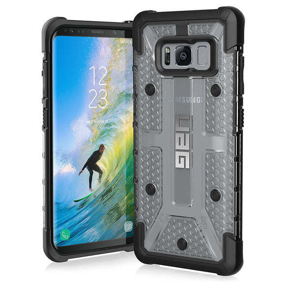 UAG - Galaxy S8 Plasma Case-Ice/Black-Visual Packaging