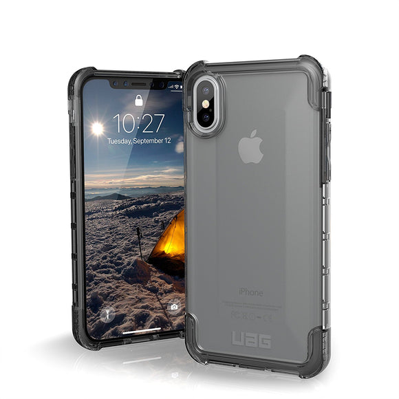 UAG - iPhone X Plyo Case- Ice- Retail Package
