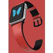 Air Strap Apple Watch 42mm -Red