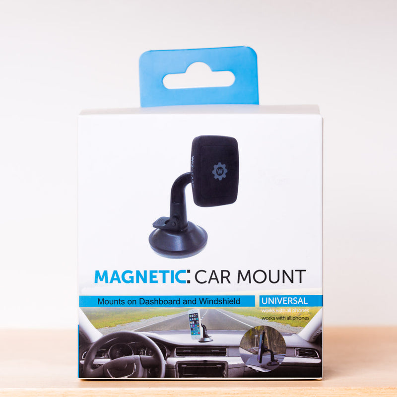 WizGear Windshield Mount and Dashboard Mount - ستاند سيارة مغناطيس