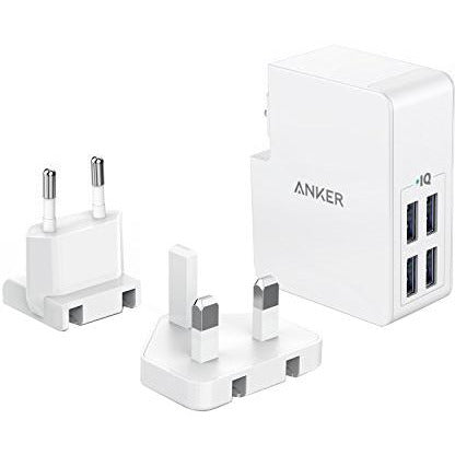 Anker PowerPort 4 Lite - White - [18 Month Warranty]