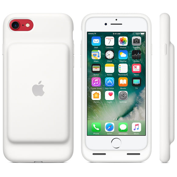 Apple smart battery case for iPhone 7/8 - White