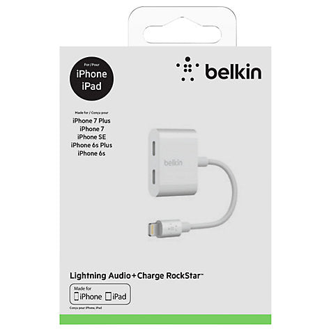 Belkin Lightning Audio Plus Charger