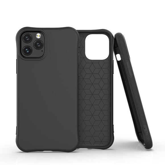 Black Simple Candy Soft Shell Phone Case