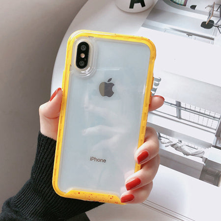 Yellow Edge Clear Case