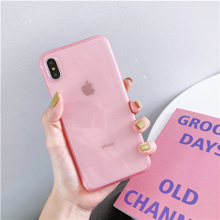 Pink Candy Soft Plain Case