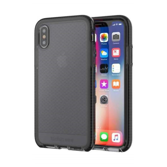 Tech21 Evo Check for Apple iPhone X - (Smokey/Black)