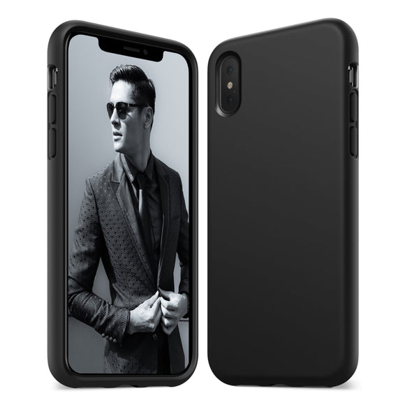 KARAPAX Silicon Case For IPhone X - Black