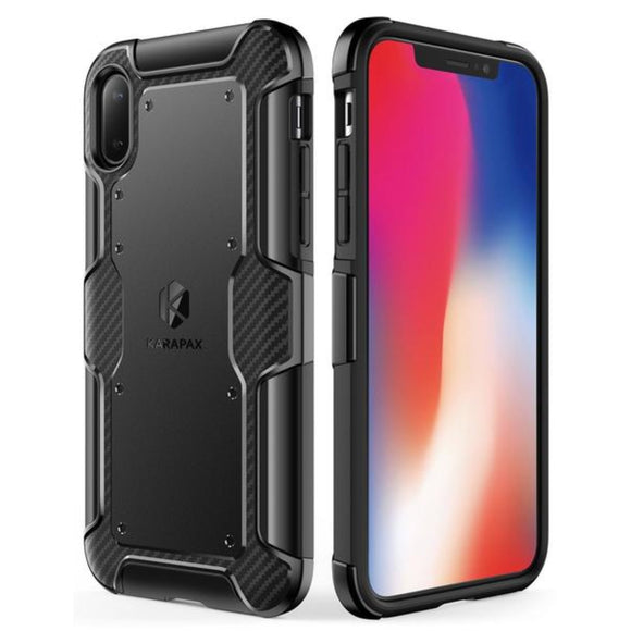 KARAPAX Shield+ Case For IPhone X - Black