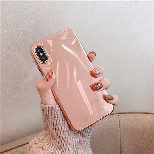 Rose Gold Crystal Plating Case
