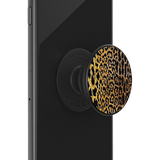 POPSOCKET - Embossed Metal Leopard - مسكة دائرية - بوب سوكت