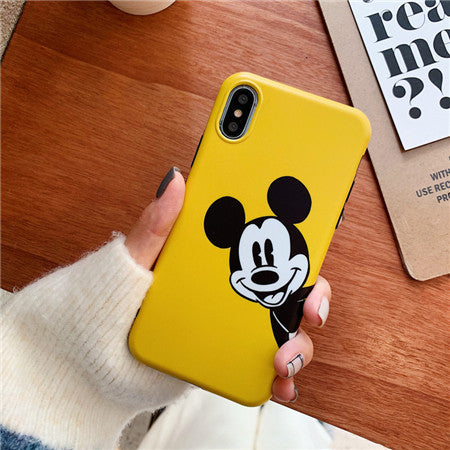 Black Mickey Yellow Case