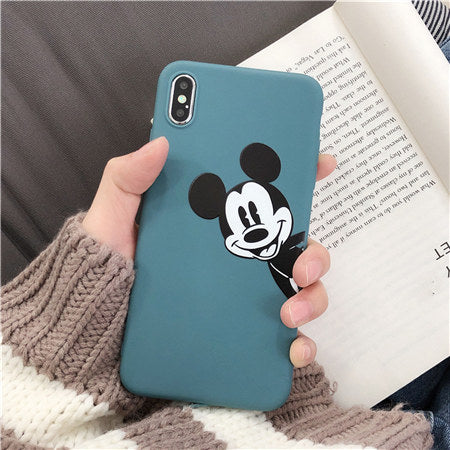 Green Mickey Matte Case