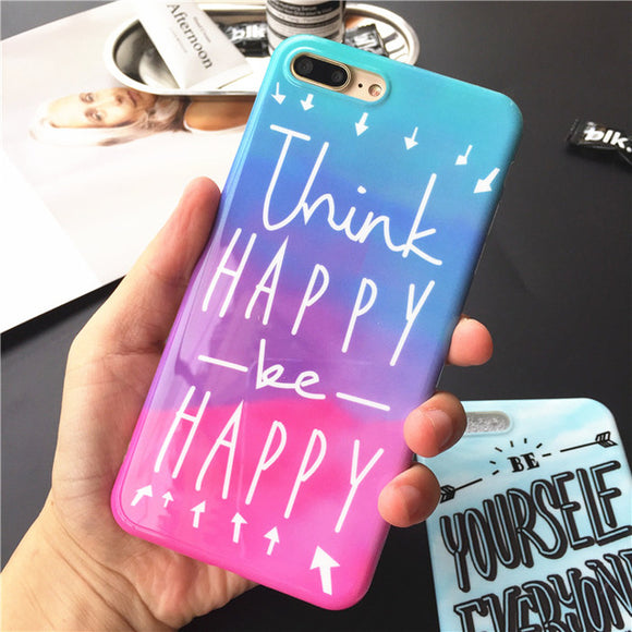 Think Happy Be Happy Case