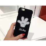 Mickey Case Hand White
