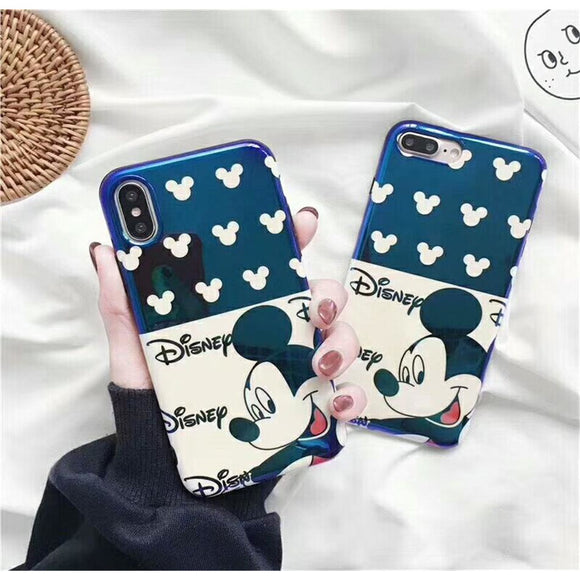 Navy Mickey Mouse Case