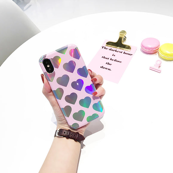 Pink Many Hearts Case