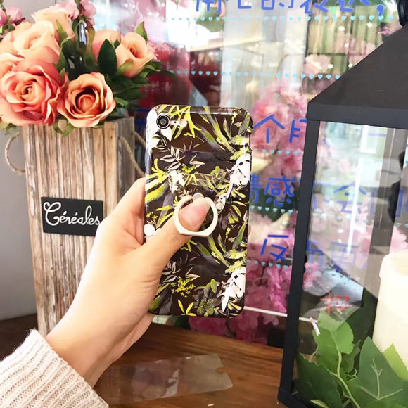 Flowers Case With Ring
