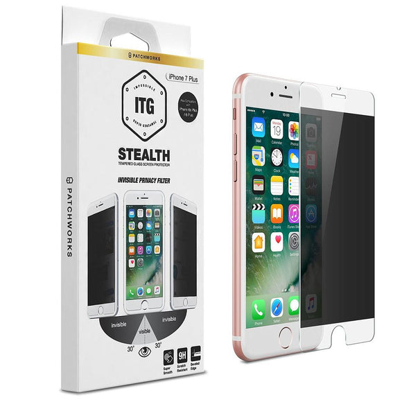 ITG Stealth Privacy Glass for iPhone 7 Plus