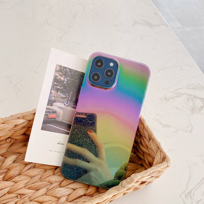 Laser Gradient Glitter Phone Case