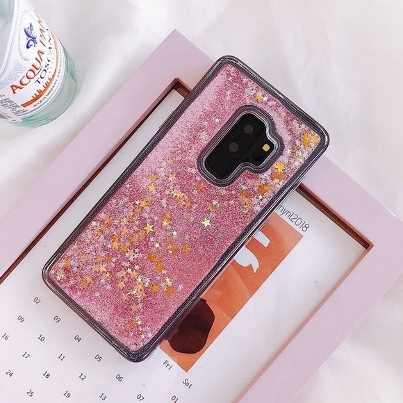 Gold Start Liquid Glitter Case